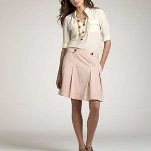 J. Crew Colored Chambray Wendy Skirt 4